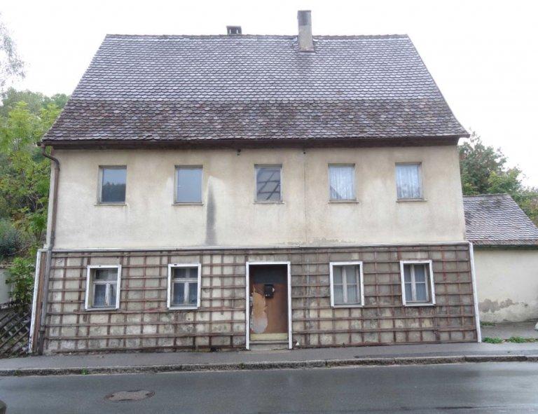 18 - abgerissenes Gebäude Hauptstraße 38